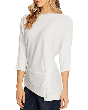 Vince Camuto Dolman-Sleeve Side Twist Top-Women