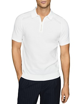 REISS - Airdale Multi-Stitch Polo Shirt