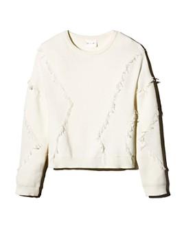 Line & Dot - Gabi Fringe-Trim Sweater
