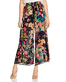 Johnny Was - Albany Floral Wide-Leg Pants