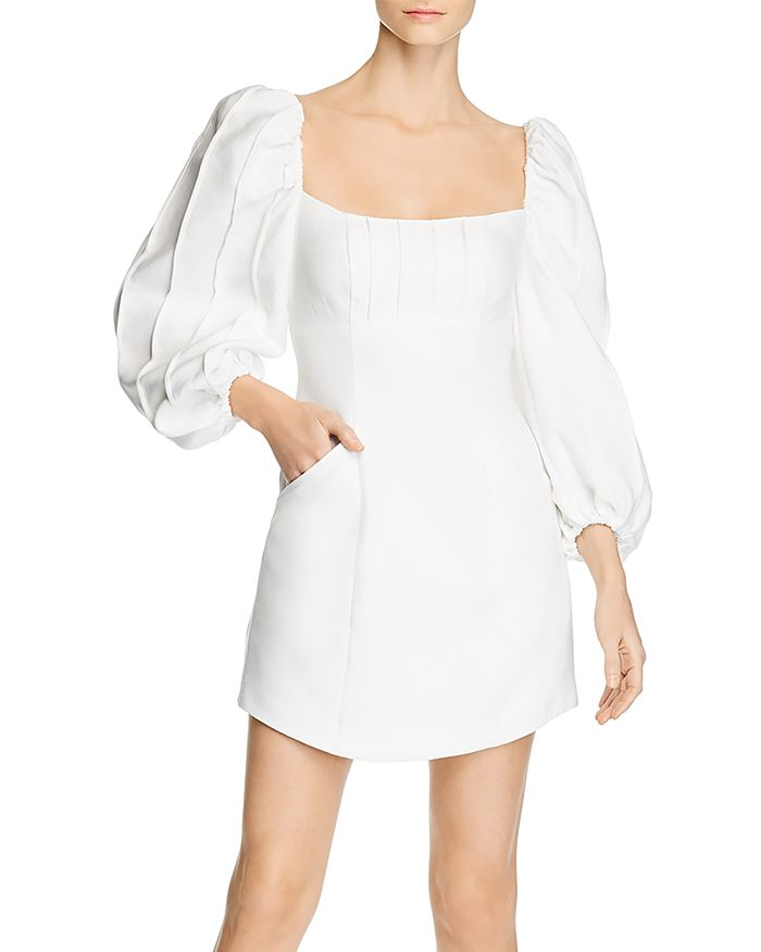 C/MEO Collective - Over Again Balloon-Sleeve Dress