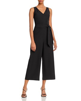 Sam Edelman - Cropped V-Neck Jumpsuit