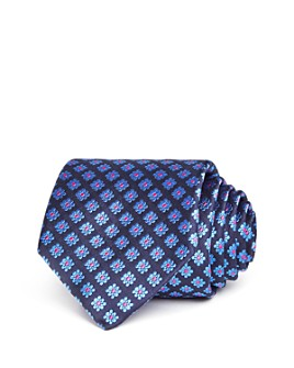 Ted Baker - Square Flower Silk Classic Tie