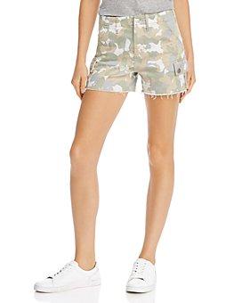 AQUA - Camo Print Cargo Shorts - 100% Exclusive