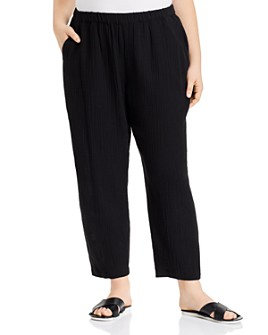 Eileen Fisher Plus - Organic Cotton Ankle Pants