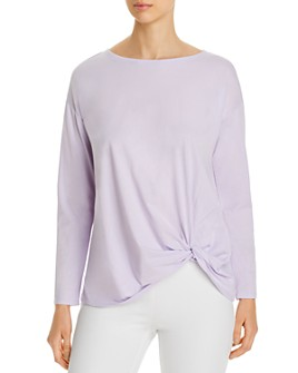 Eileen Fisher - Boat Neck Top - 100% Exclusive