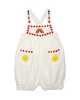 Stella McCartney - Girls' Linen Embroidered Romper - Baby