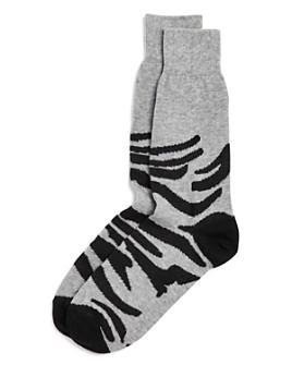 The Men's Store at Bloomingdale's - Zebra Socks