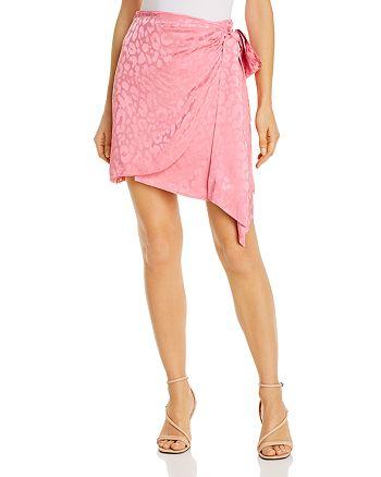 Andamane - Camilla Leopard-Print Wrap Skirt
