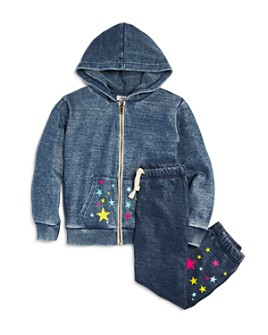 Vintage Havana - Girls' Star Hoodie & Jogger Pants Set - Big Kid