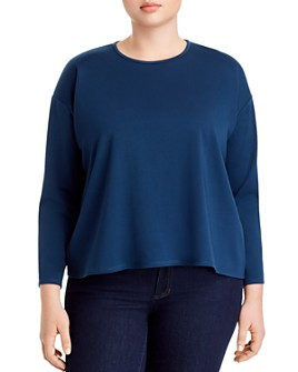Eileen Fisher Plus - Long-Sleeve Top