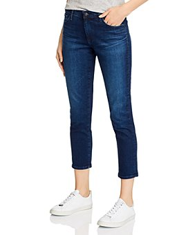 AG - Prima High-Rise Crop Skinny Jeans in Valliant - 100% Exclusive