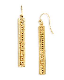 Chan Luu - 18K Gold-Plated Drop Earrings