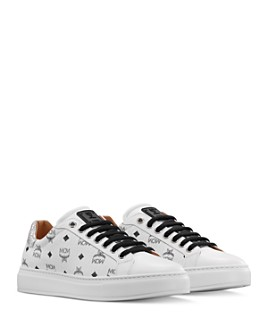 MCM - Women's Visetos Low-Top Sneakers