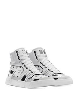 MCM - Women's Visetos High-Top Sneakers