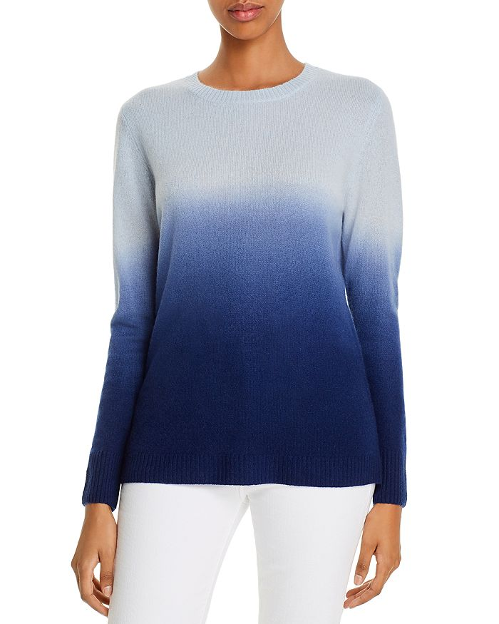 C by Bloomingdale's - Cashmere Dip-Dyed Sweater - 100% Exclusive