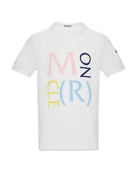 Moncler - Unisex Moncler Lettering T-Shirt - Little Kid