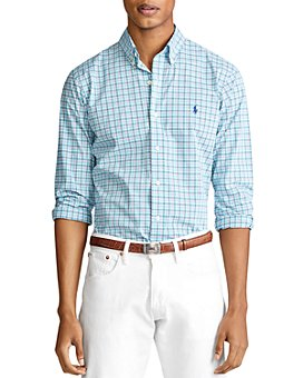 Polo Ralph Lauren - Classic Fit Plaid Poplin Shirt