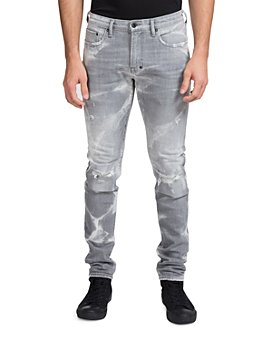 PRPS - Joplin Tie-Dye Slim Fit Jeans in Gray