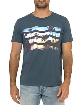 SOL ANGELES - Sun Soaked Waves Graphic Logo Tee