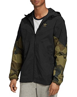 adidas Originals - Camo Regular Fit Windbreaker Jacket