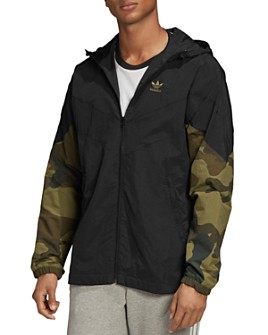 adidas Originals - Camo Regular Fit Windbreaker Jacket