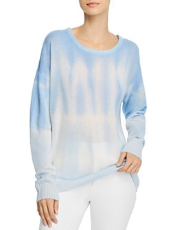 C by Bloomingdale's - Cashmere Tie-Dyed Sweater - 100% Exclusive