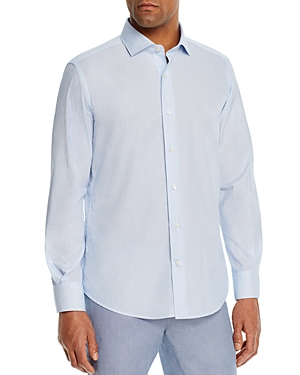 Dylan Gray Dobby Striped Classic Fit Shirt