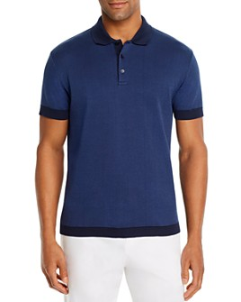Dylan Gray - Jacquard Classic Fit Polo Shirt
