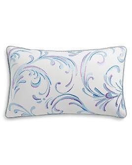 """Sky - White Paint Decorative Pillow, 14"""" x 24"""""""