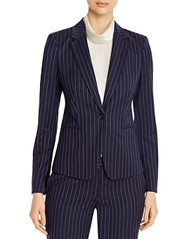 BOSS - Pinstripe Jacket