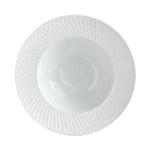 Bernardaud Twist Collection Rim Soup Bowl - 100% Exclusive-Home