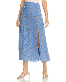 FRENCH CONNECTION - Verona Printed Skirt - 100% Exclusive