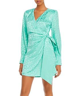 Andamane - Carly Leopard-Print Wrap Dress