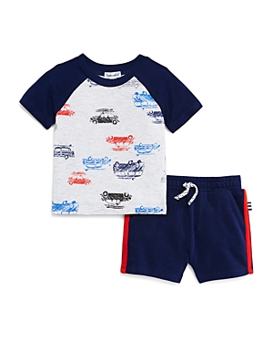 Splendid Boys\\\' Car Print Tee & Shorts Set - Baby-Kids