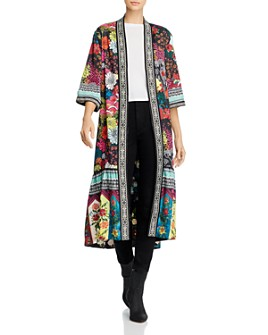 Alice and Olivia - Dottie Reversible Floral-Print Kimono