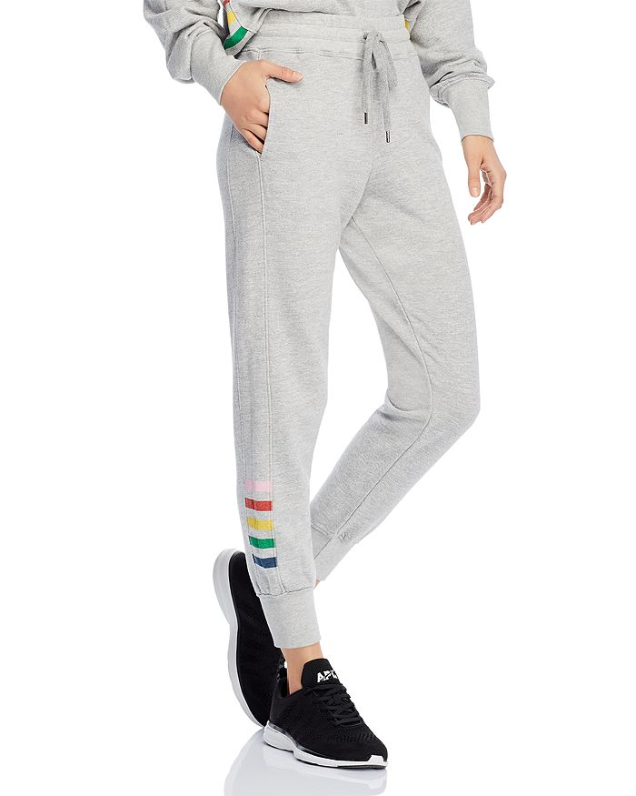 Sundry - Side-Stripe Terry Sweatpants