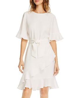 Shoshanna - Andora Flounce Dress