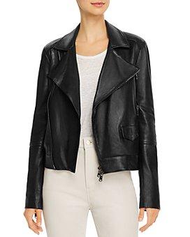 J Brand - Letty Moto Leather Jacket