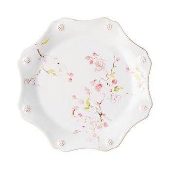 Juliska - Berry & Thread Floral Sketch Cherry Blossom Dessert/Salad Plate