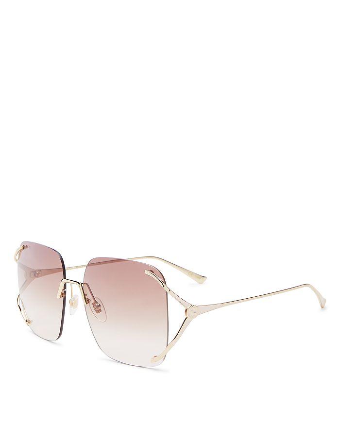 Gucci - Women's Square Sunglasses, 60mm