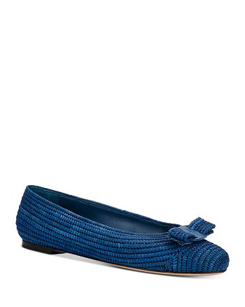 Salvatore Ferragamo - Women's Embellished Slip On Ballet Flats