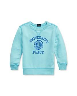 Ralph Lauren - Boys' University Place Logo French Terry Sweatshirt - Little Kid
