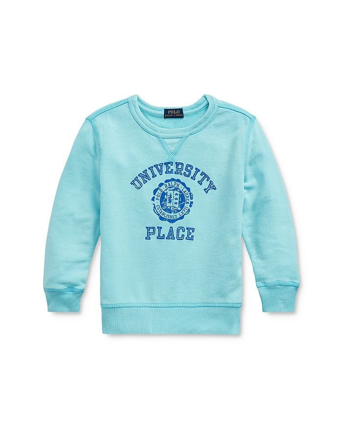 Ralph Lauren - Boys' University Place Logo French Terry Sweatshirt - Little Kid
