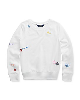 Ralph Lauren - Girls' French Terry Pullover - Big Kid