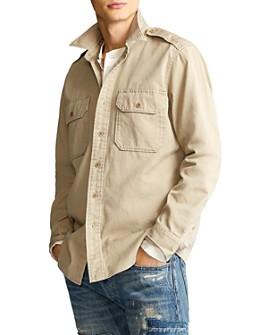 Polo Ralph Lauren - Cotton Twill Classic Fit Utility Shirt