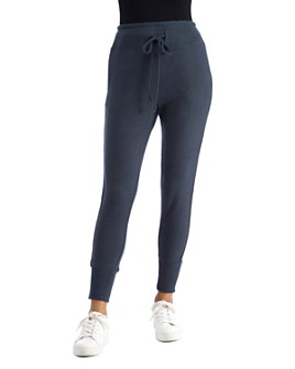 B Collection by Bobeau - Racer-Stripe Jogger Pants