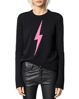 Zadig & Voltaire - Delly Intarsia Cashmere Sweater