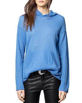 Zadig & Voltaire - Wednesday Hooded Cashmere Sweatshirt