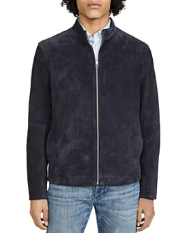 rag & bone - Agnes Suede Slim Fit Jacket